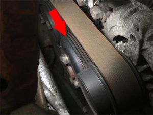 drive belt maintenance