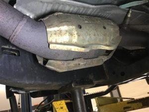Exhaust shield