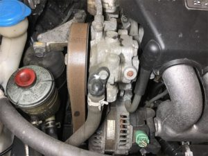 serpentine belt maintenance