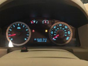 low-fuel light