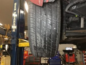 rear tire wear